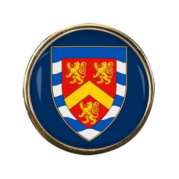 Anglesey Round Pin Badge