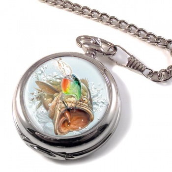 Angling Pocket Watch