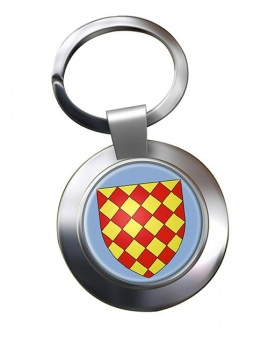 Angoumois France) Metal Key Ring