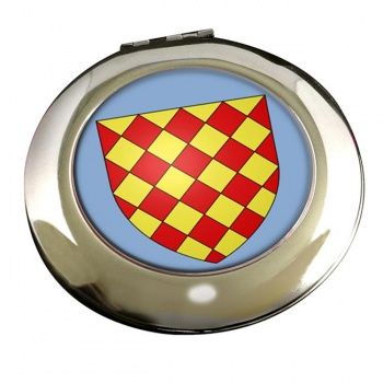 Angoumois France) Round Mirror