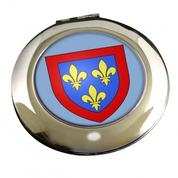 Anjou (France) Round Mirror