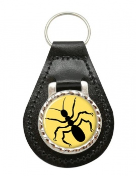 Ant Leather Key Fob