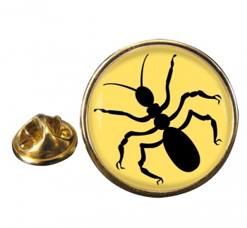 Ant Round Pin Badge