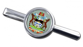 Antigua-and-Barbuda Round Tie Clip