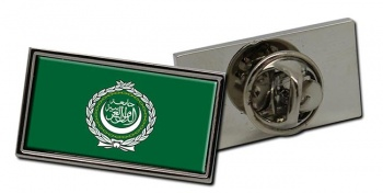 Arab League Flag Pin Badge
