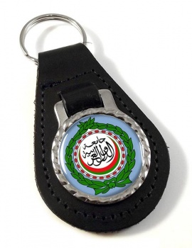 Arab League Leather Key Fob