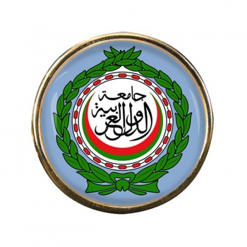 Arab League Round Pin Badge