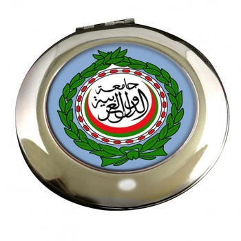 Arab League Round Mirror