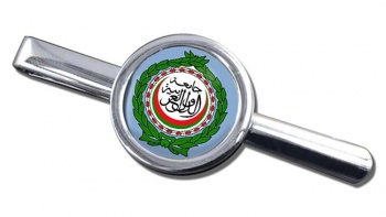 Arab League Round Tie Clip