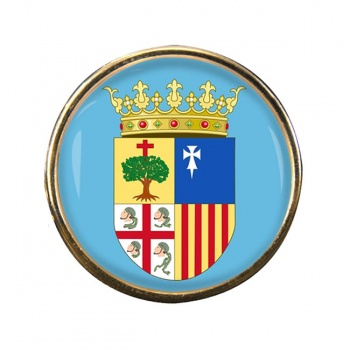 Aragon (Spain) Round Pin Badge
