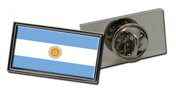 Argentina Flag Pin Badge