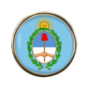 Argentina Round Pin Badge