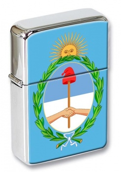 Argentina Flag Flip Top Lighter