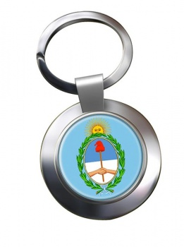 Argentina Metal Key Ring