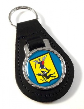 Arkhangelsk Leather Key Fob