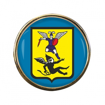 Arkhangelsk Round Pin Badge