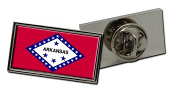 Arkansas  Flag Pin Badge