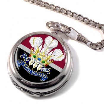 10th Royal Hussars (Prince of Wales's Own) Pocket Watch