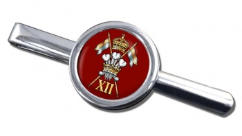 12th Royal Lancers Round Tie Clip