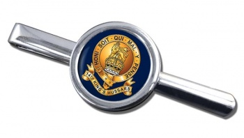 14th King's Hussars Round Tie Clip