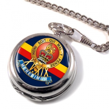 15th-19th The King's Royal Hussars Pocket Watch
