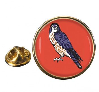 15 (North East) Brigade Round Pin Badge