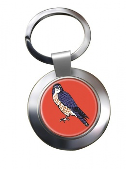 15 (North East) Brigade Chrome Key Ring