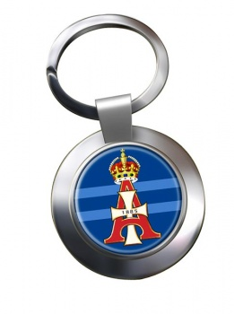 19th Royal Hussars (Queen Alexandra's Own) Chrome Key Ring