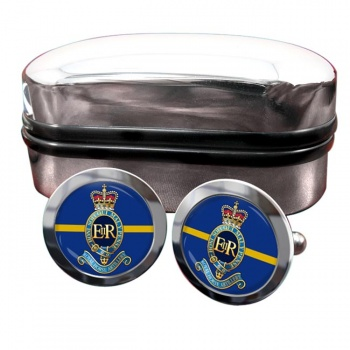1st Regiment Royal Horse Artillery Round Cufflinks