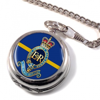 1st Regiment Royal Horse Artillery Pocket Watch
