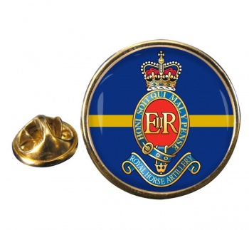 3rd Regiment Royal Horse Artillery Round Pin Badge