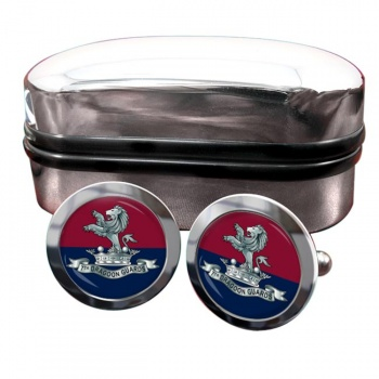 7th Dragoon Guards Round Cufflinks