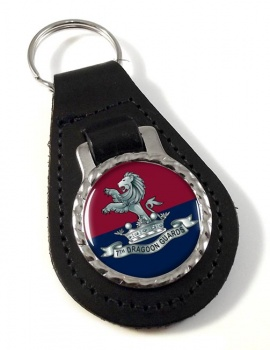 7th Dragoon Guards Leather Key Fob