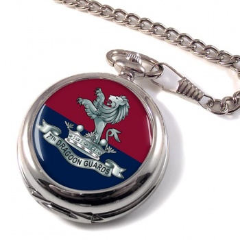 7th Dragoon Guards Pocket Watch