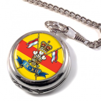 9th-12th Royal Lancers Pocket Watch