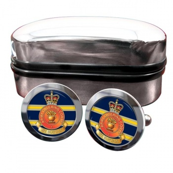 Army Catering Corps Round Cufflinks