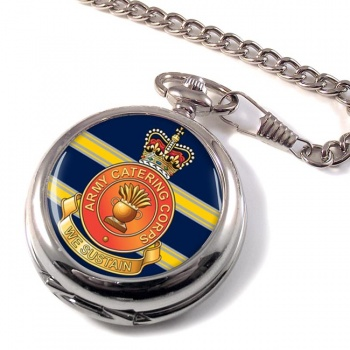 Army Catering Corps Pocket Watch