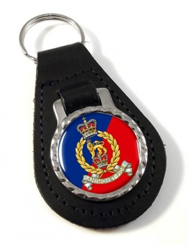 Adjutant General's Corps Leather Key Fob