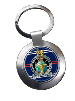 Army Legal Services Chrome Key Ring