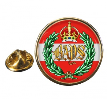 2nd Dragoon Guards (Queen's Bays) Round Pin Badge