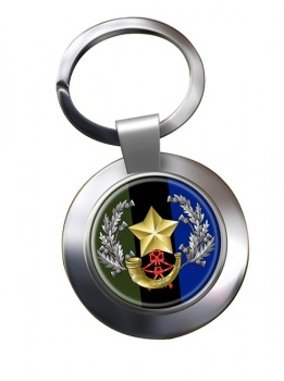 Cameronians (Scottish Rifles) Chrome Key Ring
