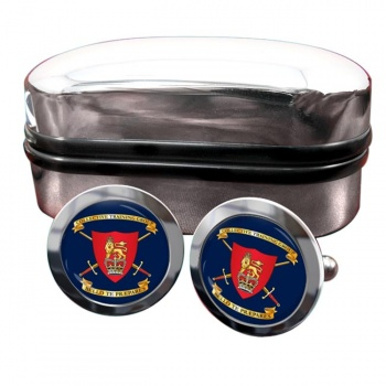 Collective Training Group Round Cufflinks