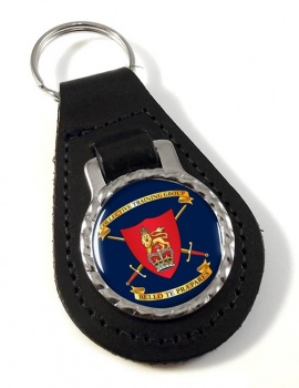 Collective Training Group Leather Key Fob