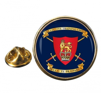 Collective Training Group Round Pin Badge