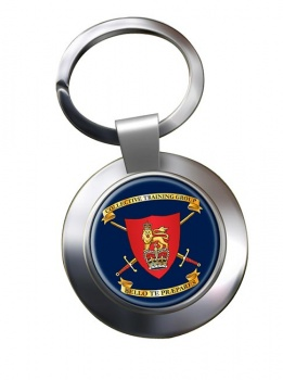 Collective Training Group Chrome Key Ring