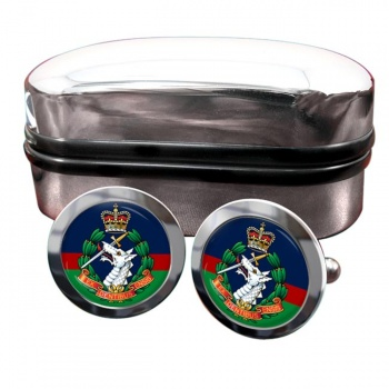 Royal Army Dental Corps Round Cufflinks