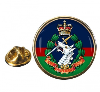 Royal Army Dental Corps Round Pin Badge
