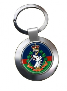 Royal Army Dental Corps Chrome Key Ring