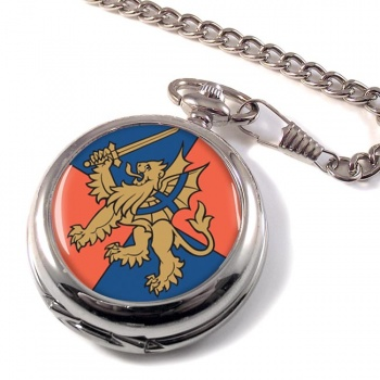 Force Troops Command Pocket Watch