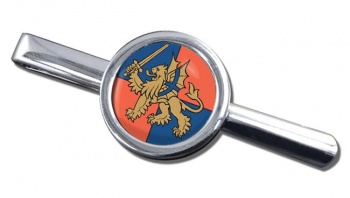 Force Troops Command Round Tie Clip